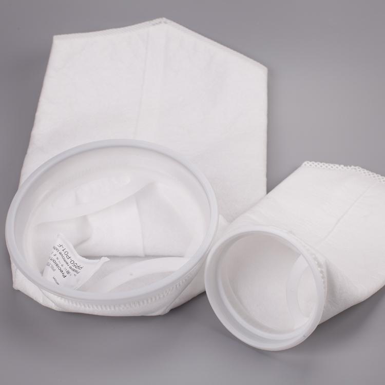 100 microns sacs filtrants en nylon avec le matériel est en nylon monofilament