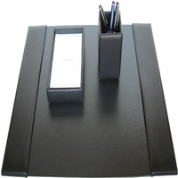 OffiStationery set with pen holder business card holder stationery