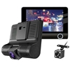 4.0 inch Car DVR Camera recorder Radar Detector+GPS 3 in 1 Car-detector Dash Cam 3 lens Anti Radar Detector Night Vision