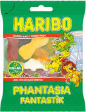 haribo halal phantasia 100g on PROMOTION