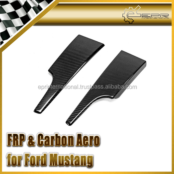 For Ford 2015 Mustang Dash Carbon Bottom Trim(For LHD only) CF