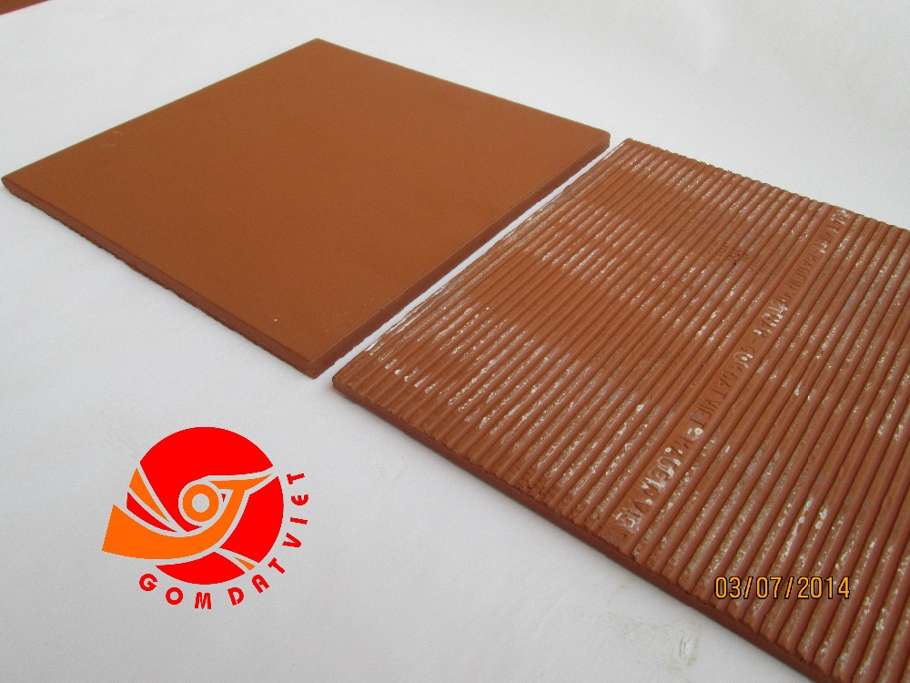 Fired Red Non-Slip Kitchen Floor Tile Homogeneous Floor Tile Terracotta Courtyard Floor Tile