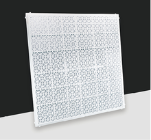 Modieuze decoratieve <span class=keywords><strong>ABS</strong></span> plafond diffuser met nylon filter voor <span class=keywords><strong>ventilatie</strong></span>