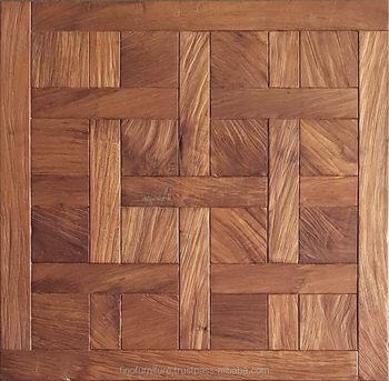 Teak Root Chantilly Solid Wood Parquet Flooring