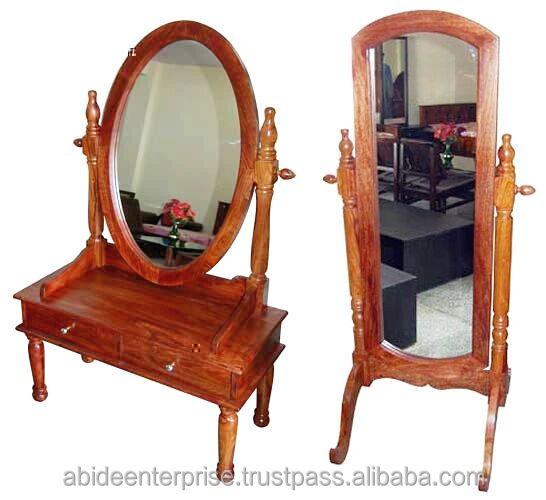 Dresser Mirror Floor Stand
