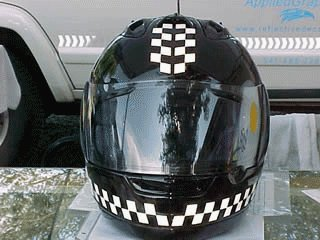 ... reflective stickers: Helmet ...