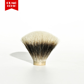 2019 Hot Sale High Quality  gel tip badger hair knot   Finest Two Band Knot For Man Shaving OUMO BRUSH Shaving Tool