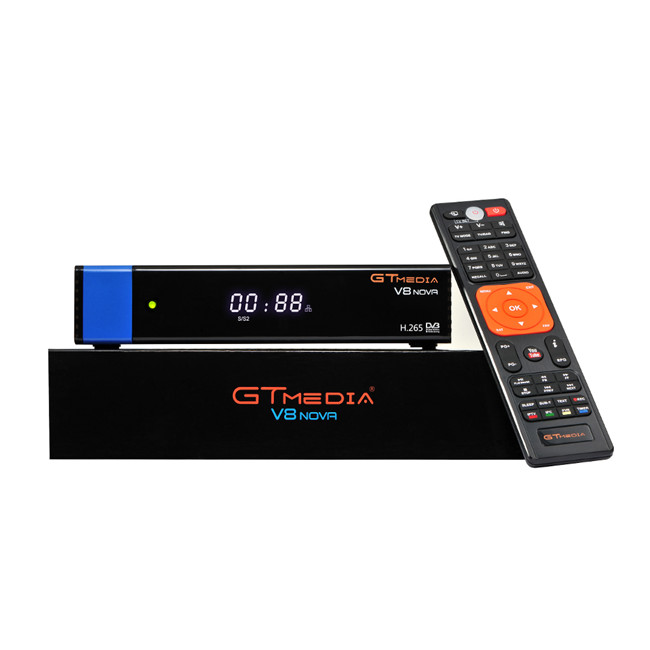 Factory Wholesale GTMedia V8 pro 2 DVB S2 DVB T2 DVB Cable TV Decoder Free to Air Internet Receiver With Cccam PowerVu Biss Key