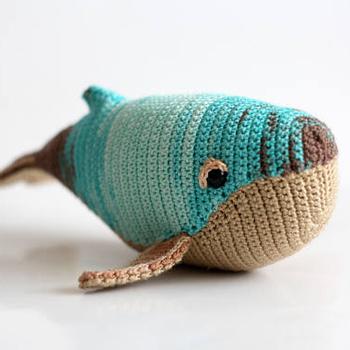 Nette Wal Whale Spielzeug Häkeln Whale Amigurumi Geschenke Für Kids
