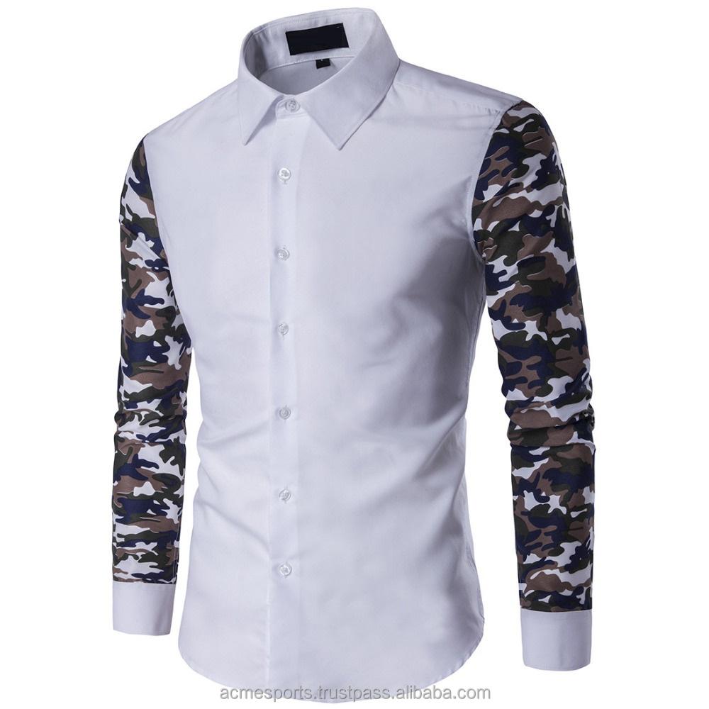 a5dc09b59132e9 Slim fit dress shirts - New latest design men's sublimated sleeves slim fit  dress shirt for business manufacturer