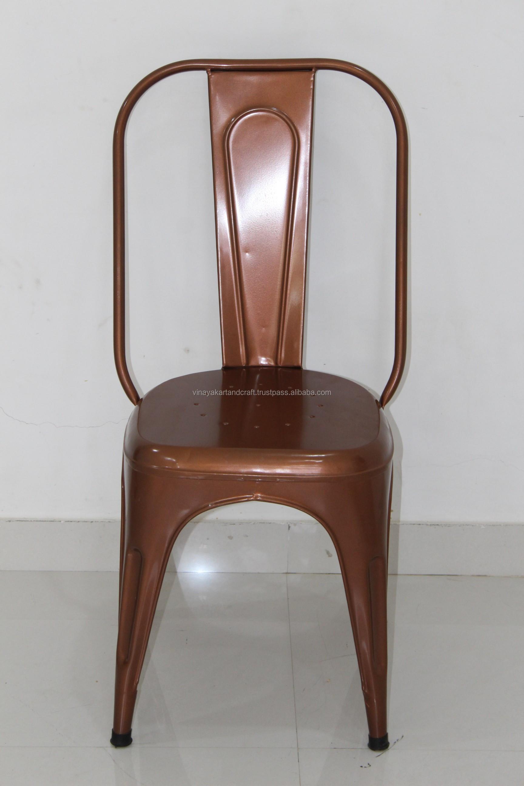 Sedie In Ferro Vintage.Vintage Metallo Industriale Pila Sedia In Metallo Sedia In Stile
