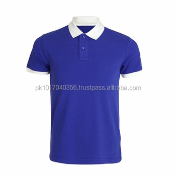 Blue Color Polo Shirts Golf Polo Shirts