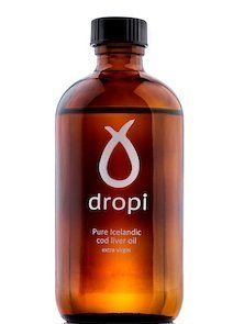 Dropi Pure Icelandic Cod Liver Oil - Extra Virgin 220 ML