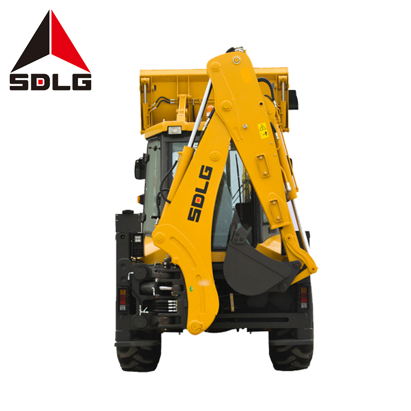 SDLG B877 Shandong lingong construction machinery backhoe ล้อ loader