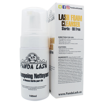 Lash Foam Shampoo Cleanser For Eyelash Extension   50ml/100ml Made In  Canada - Private Label Welcome - Buy Lash Foam Cleanser Eyelash Cleanser  Product