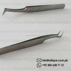 German Stainless Steel Tweezers / Italian Manicure Instruments /Best Quality Tweezers for Eyelashes