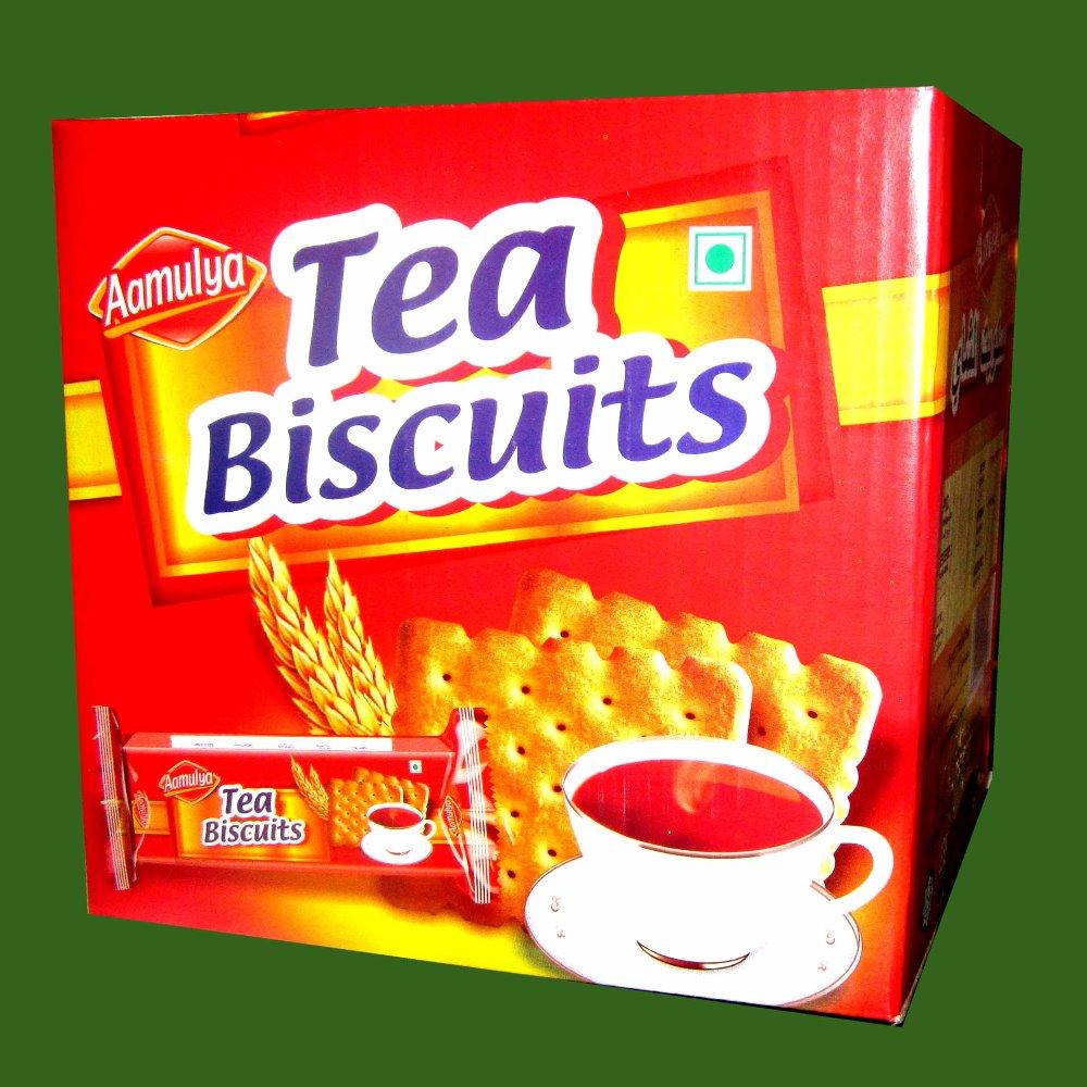 شاي بسكويت