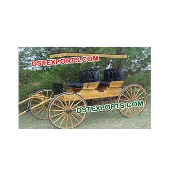 Horse Drawn Wagonwedding Antique Wooden Buggyfour Wheel Horse Wagon For Sale Buy Horse Drwan Carriages Manufacturercinderella Horse