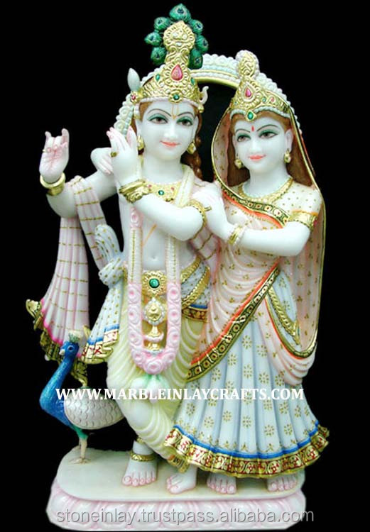 White Marble Radha Krishna Unique Idol Buy Radha Krishna Ji