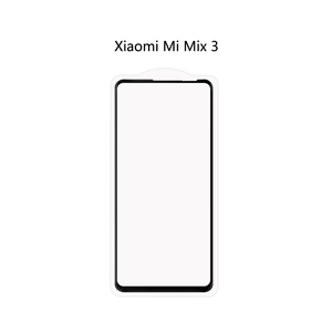 Ainy Full Glue mi MIX3 Full Cover 0.25mm 2.5D tempered glass screen protector for xiaomi