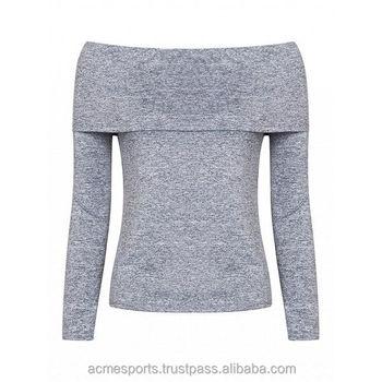 c5a1b1467e8 Ladies Shoulder Down T Shirts - Fashion Women Summer Short Sleeve Top long  sleeves Ladies Casual