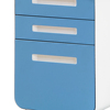Guangzhou manufacturer how much does a cost vertical file cheap white filing cabinet
