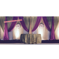 Wedding Backdrop Curtains, Colourful Wedding Mandap Backdrop Curtains, Indian Wedding Backdrop Curtains for Decoration