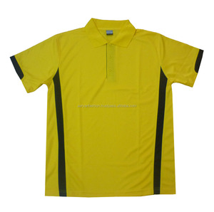 Custom made cut and sew polos wear for men