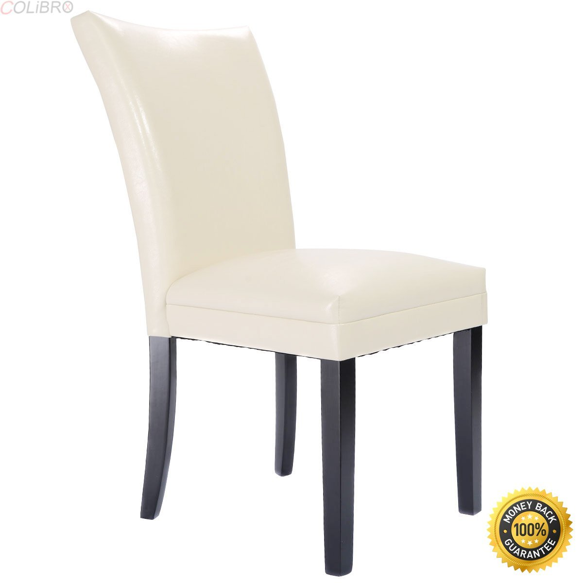 Buy Modern Design Leather Accent Dining Chairs Sturdy