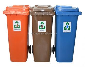 120l Recycling Plastikmulleimer Buy Kunststoff Mulleimer Product