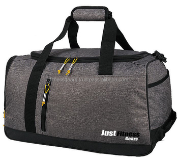 Custom Duffle Bags Medium Sports Gray Golf Gym Football Tennis Bag Small Mens Made Product On