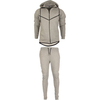 Design Your OEM 2019 Tracksuit With Full Set, Wholesale Hip Hop Style Fashion Slim Fit Tracksuit