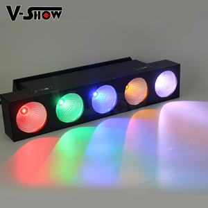 5 Dot Linear COB Bar Magic LED Matrix light RGBA/W 4IN1 Color Wall Wash Light with Removed frost filter