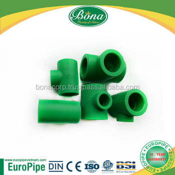 [EUROPIPE] Hot sale PPR Equal Tee 90 degree used in industrial fields, agriculture