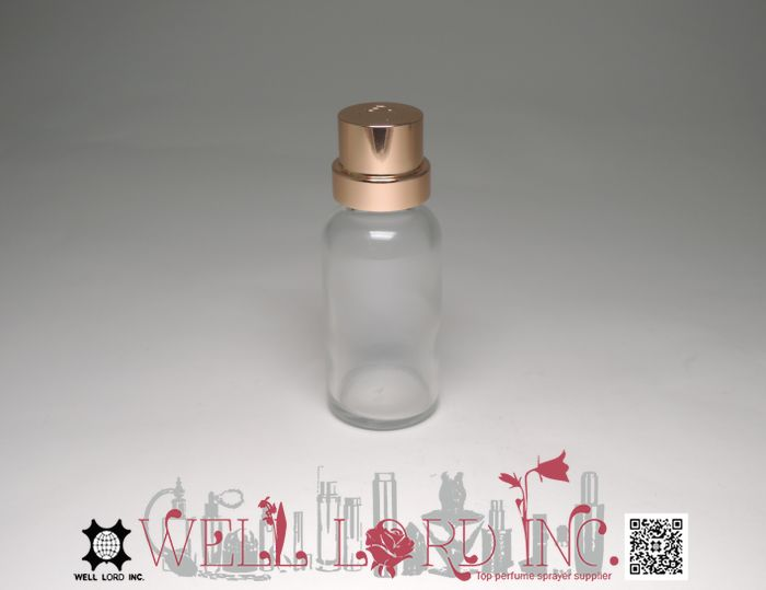 Anti aging dry oil mist facial use temper proof glass with screw cap