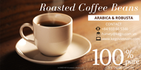 Wholesale Roasted Arabica coffee beans from Yunnan