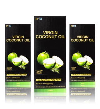 *HIGH QUALITY* 100% UNBLEACHED, UNREFINED, UNDEODORIZED cold pressed virgin coconut oil - Philippines - 500ml