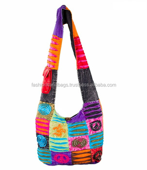 Nepali Hippie Style Shoulder Bags Manufacturer