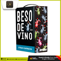 Spanish Dry Red Wine Aged in Oak Barrels Wholesale | Beso de Vino Syrah Garnacha BIB 3L 2015 | Grandes Vinos