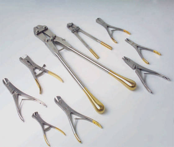 stainless steel Bone Punch forceps 3 mm tip orthopedics surgical Instruments