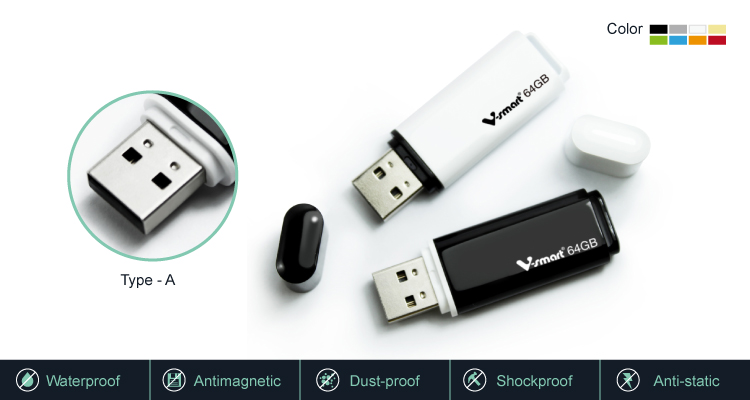 De 8G 16G 32GB 64GB USB flash drive