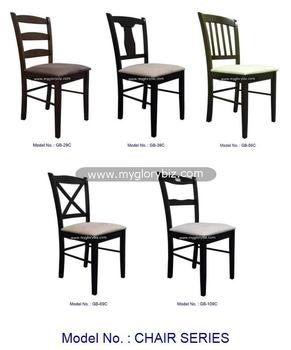 Latest Design Modern Dining Chair Series In Solid Rubber Wood Dining Chair Home Furniture Series Malaysia Solid Rubber Wood Buy Wooden Dining Chairs