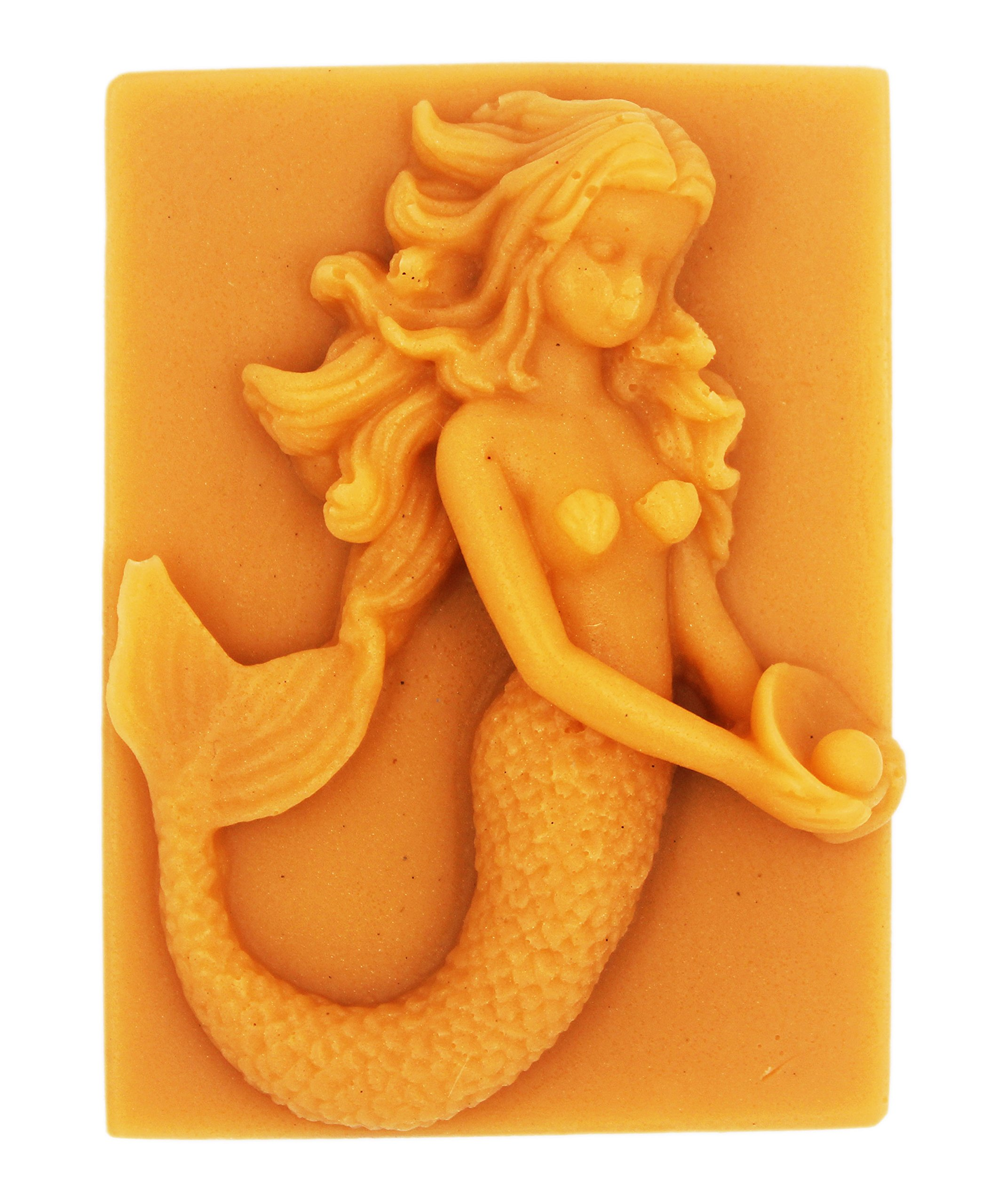 Longzang Mermaid mould S282 Craft Art Silicone Soap mold Craft Molds DIY Handmade soap molds
