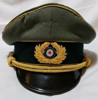 Ww2 German Field Marshal General Officer Hat Cap Wwii - Buy Made Of  Gabardine Material Fabric Visor Plastic Ww2,Military Officer Cap Hat For  Men