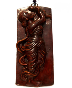 Hand Made Natural Terracotta Art Sculpture Home Decor Item With Clay