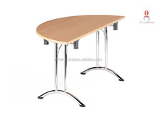 Ele.gance Halbrund - Elegant folding tables, practical conference tables, high-quality halb round wooden tables to fold
