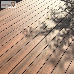 Mexytech artificial wood capped composite decking wpc decking export to Europe