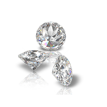 Polished Round Natural Loose Diamonds for Jewellery