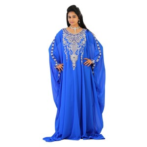 Hot selling kaftan maharani stylish Muslim dress Women Kaftan Abaya Arabian Wedding MOROCCAN Jilbab Royal Maxi Dress
