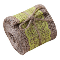 Top Level Best Sell Hot Sell Lace Jute / Burlap Ribbon